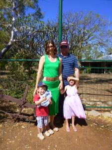 Famille d'accueil dans l'Outback