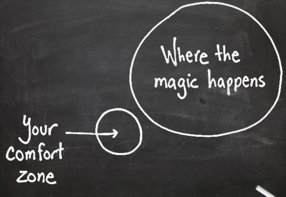Sortez de votre zone de confort