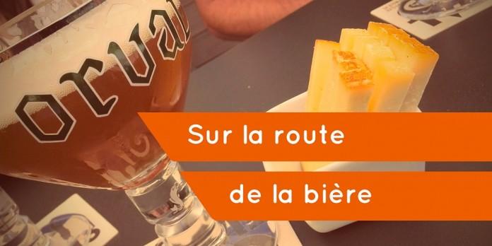 Sur la route de la bière