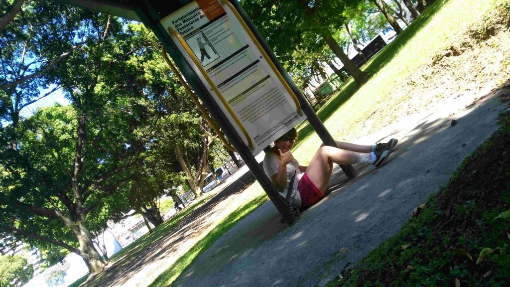 A la recherche de la cache à Lisbonne