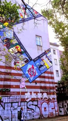 Street art à Kreuzberg, Berlin