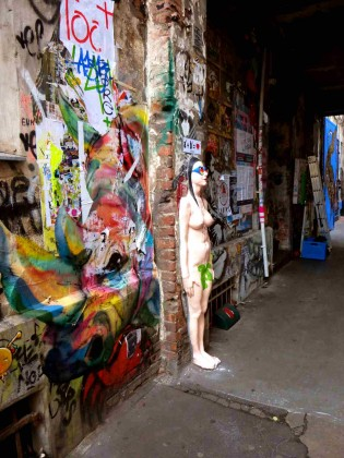 Haus Schwarzen Berg - Graffiti - Berlin