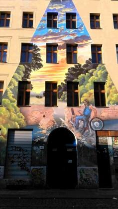 Graffiti à Belrin, Kreuzberg