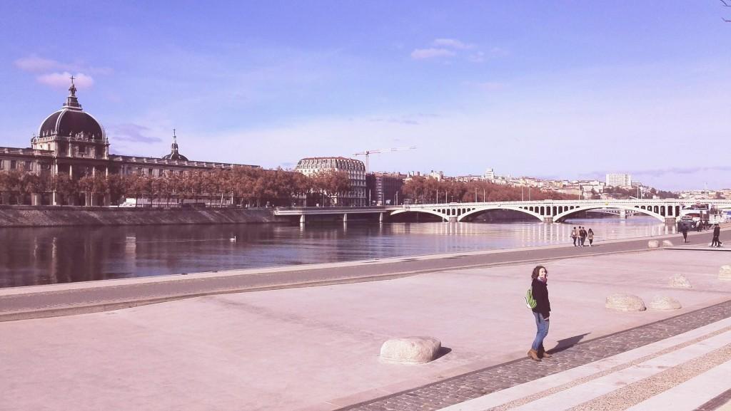 Rhône à Lyon