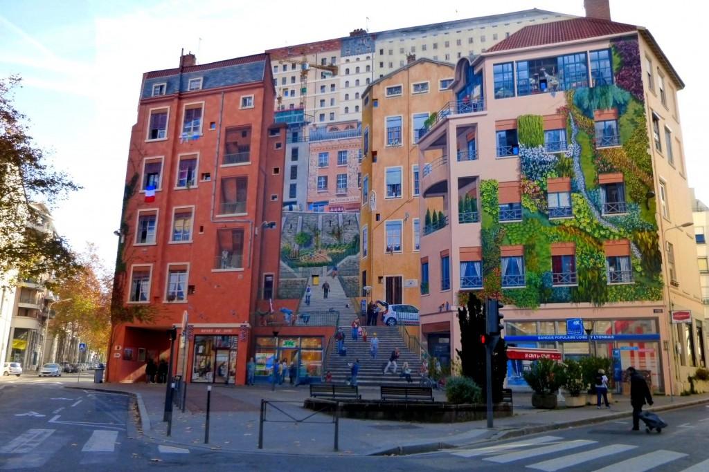 Lyon, capitale du trompe-l'oeil