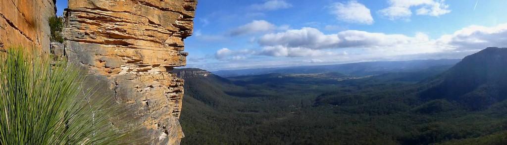 Panorama sur les Blue Mountains