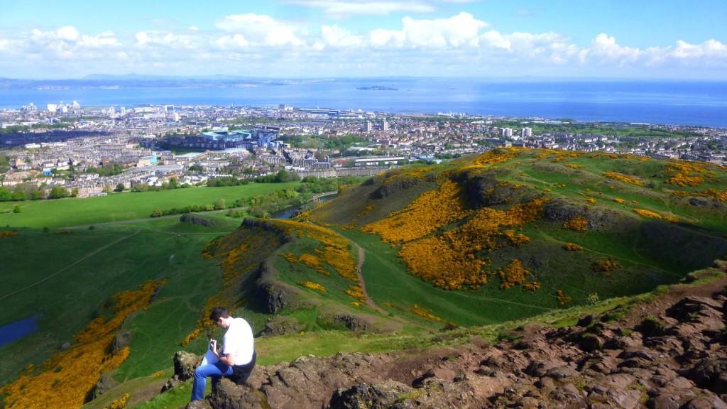 L'Arthur's Seat à Edimbourg