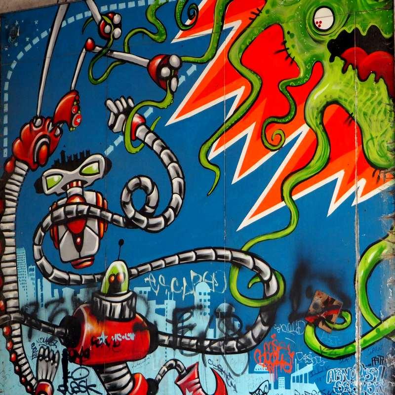 Graffitis à Bruxelles
