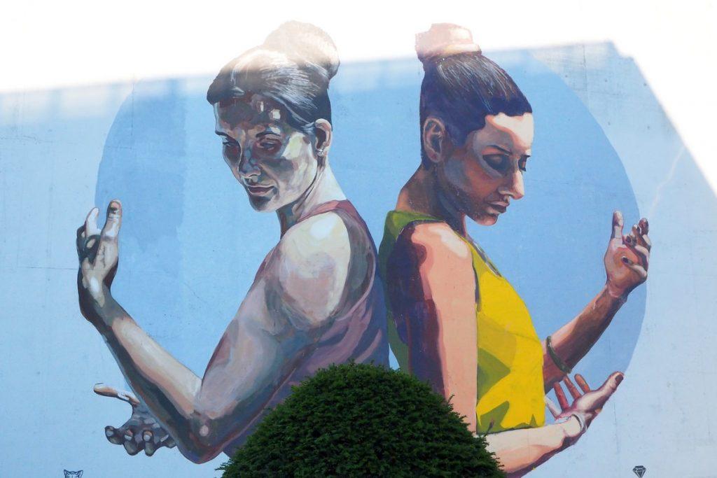 Street-art à Louvain-la-Neuve