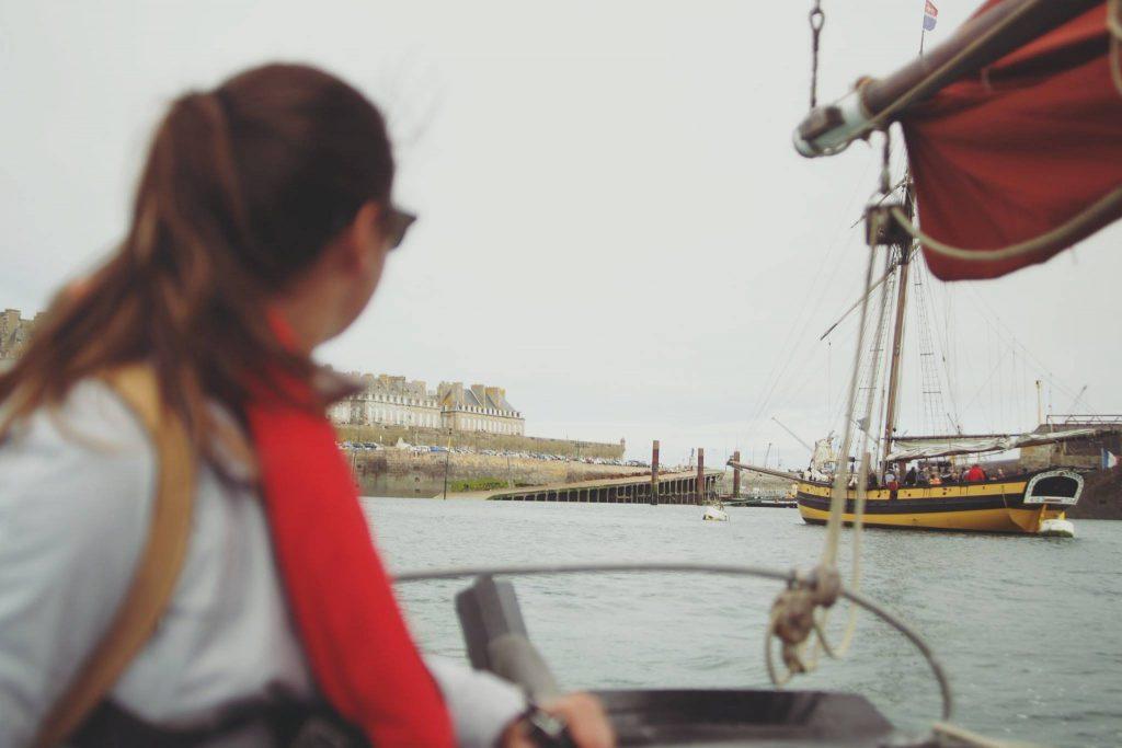 Faire de la voile en Bretagne