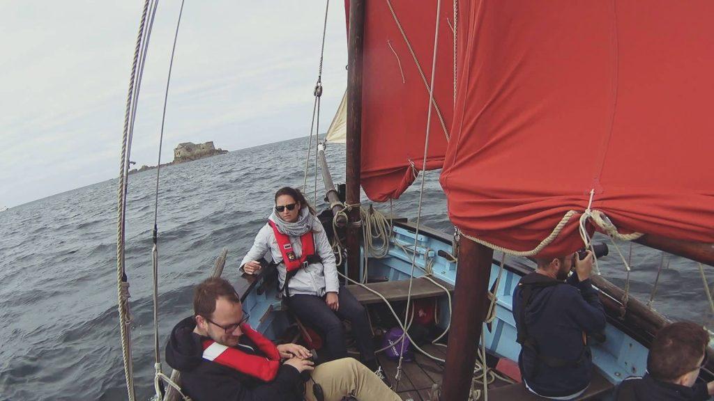 Faire du voilier en Bretagne