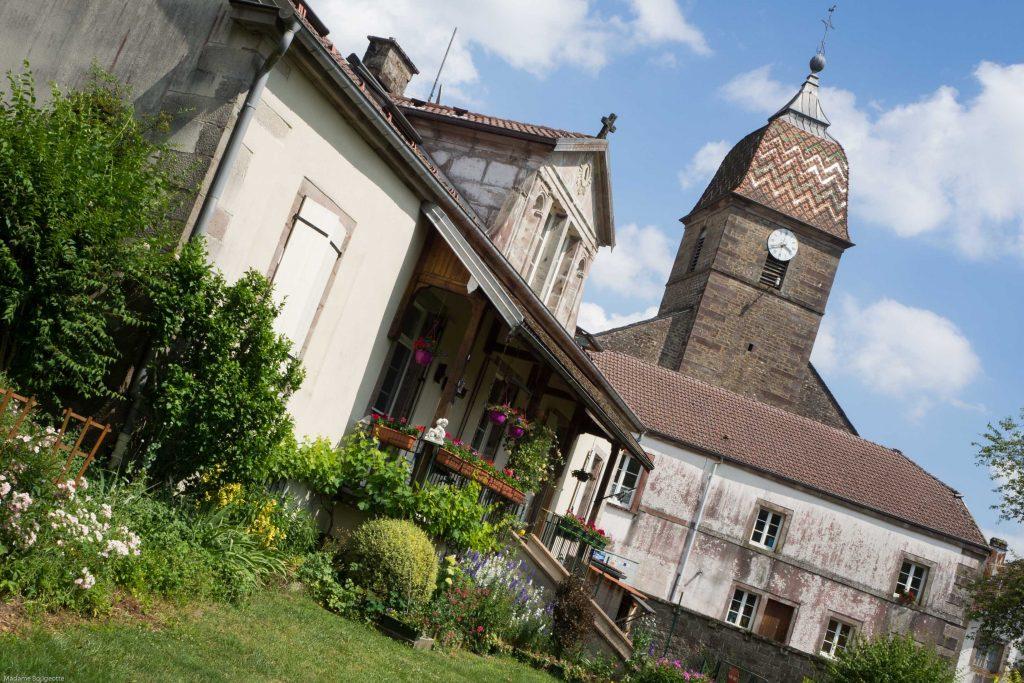 La route des chalots - Saint-Bresson