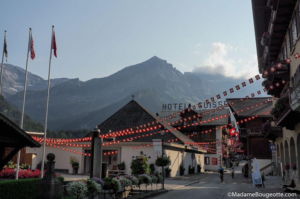Champéry - randonnée en Suisse