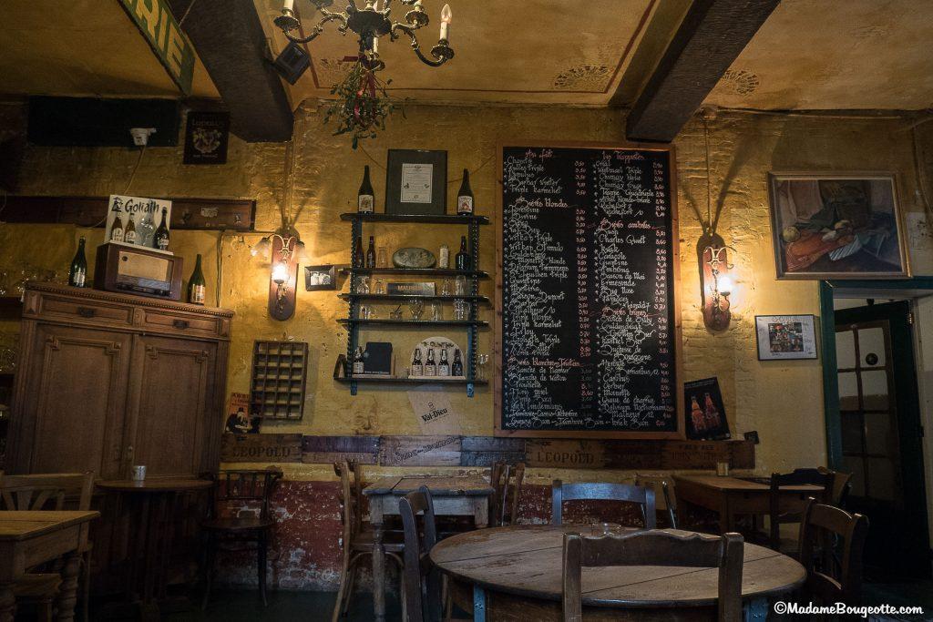 Bar à Namur - Le Chapitre