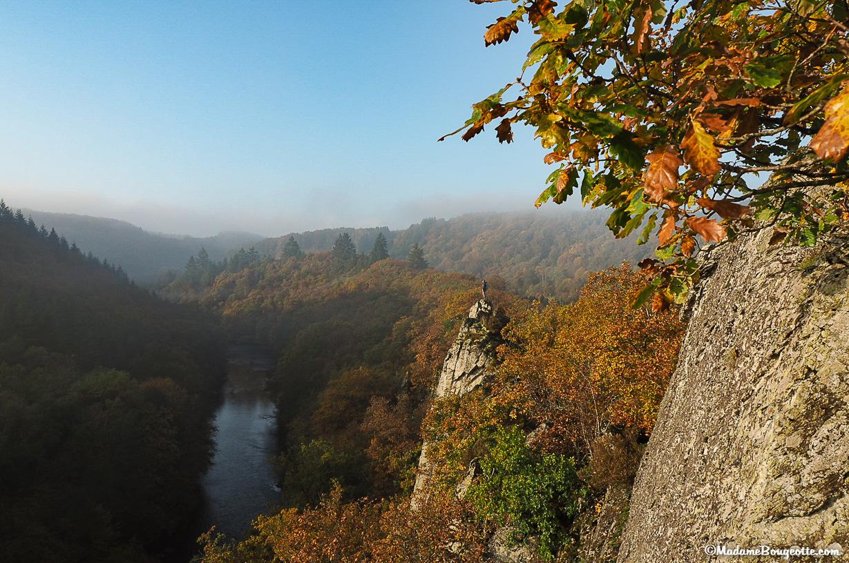 Les plus belles randonnées Ardenne - Le rocher du Hérou