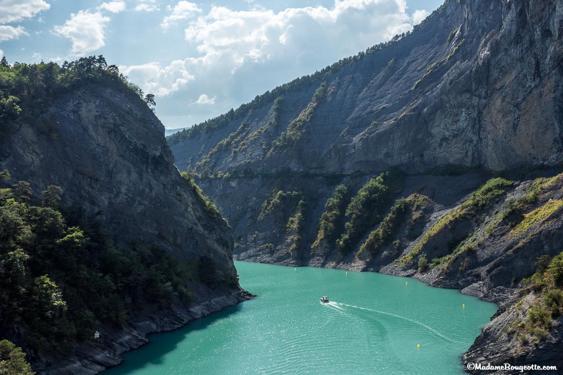 Vercors - Lac Monteynard