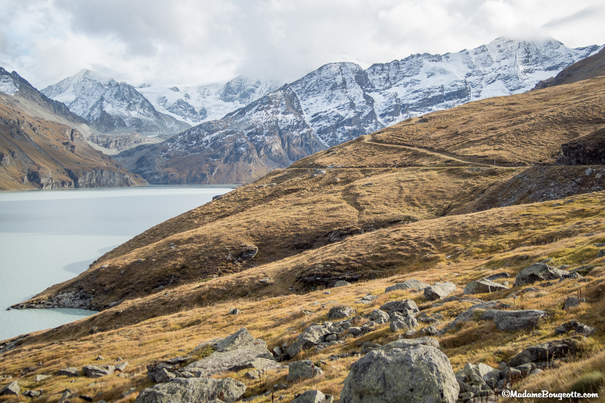 Le sentier des Bouquetins - Val d'Hérens - Suisse