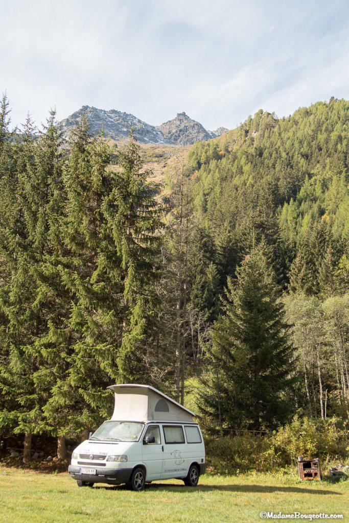 Val d'Hérens - Valais - Camping