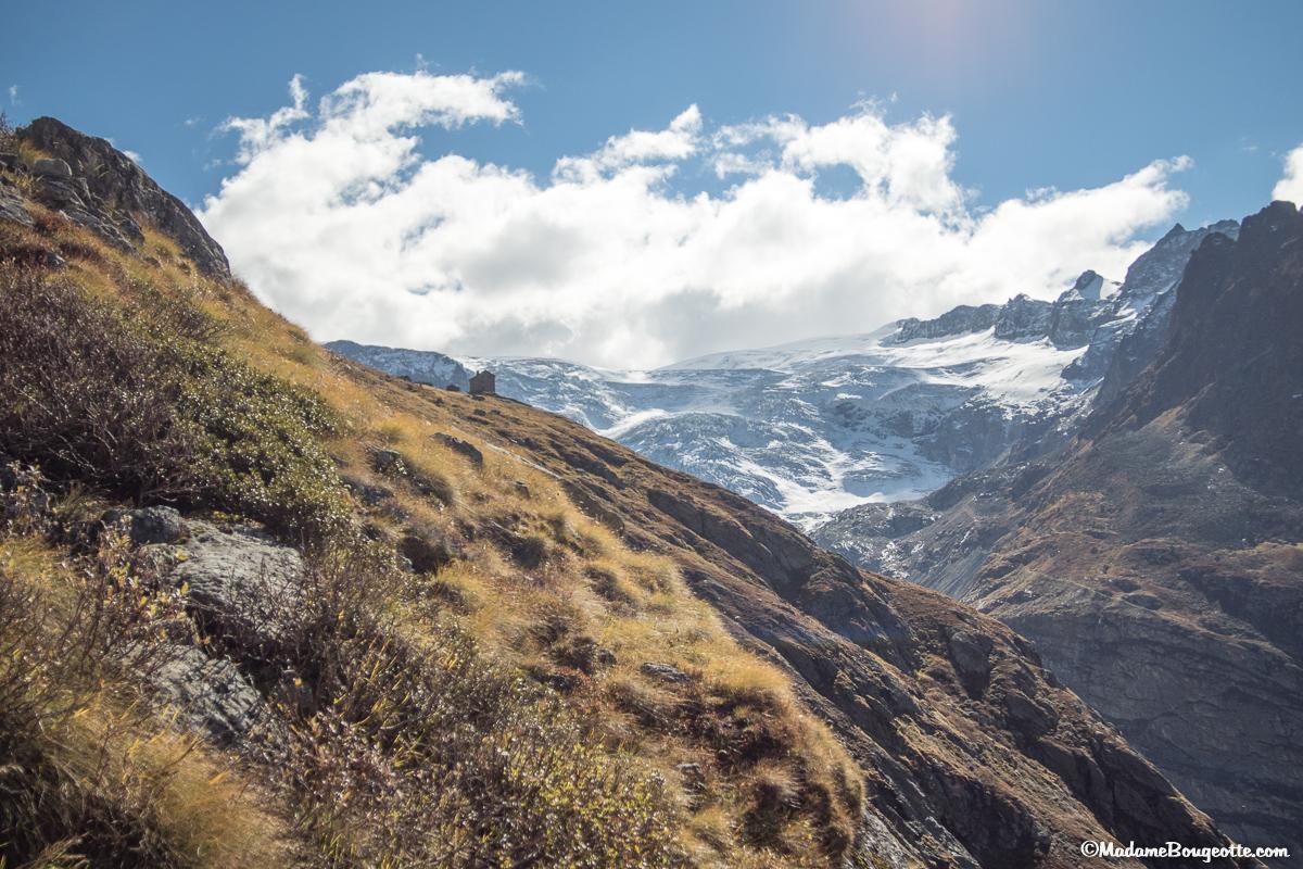 Les glaciers de Ferpècle et de Mont Miné - Suisse