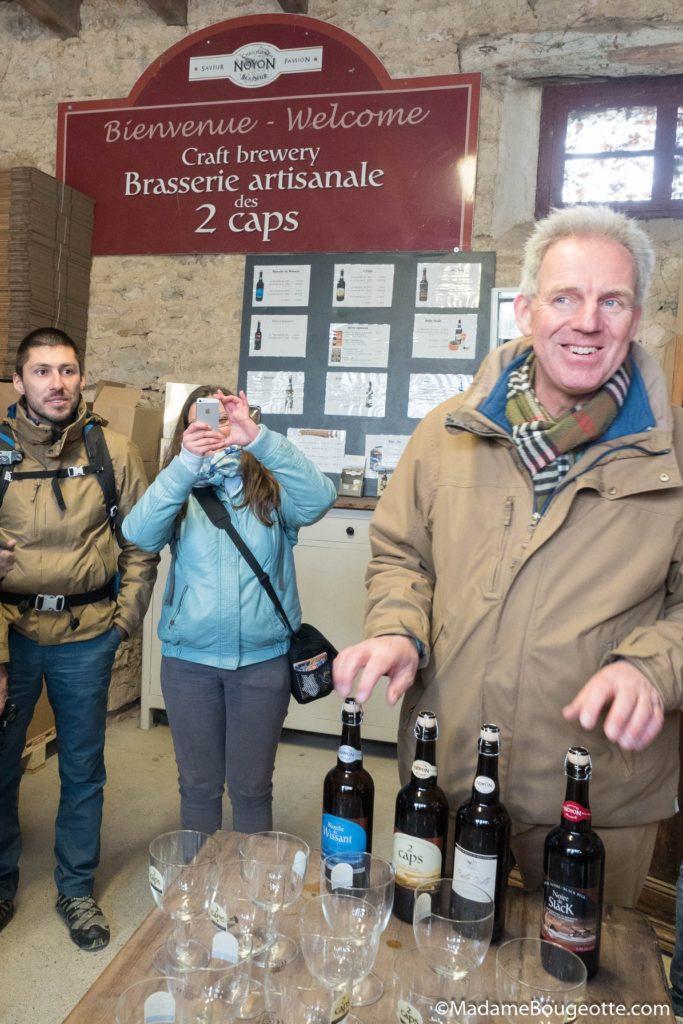 Explication des bière par le brasseur Christophe Noyon