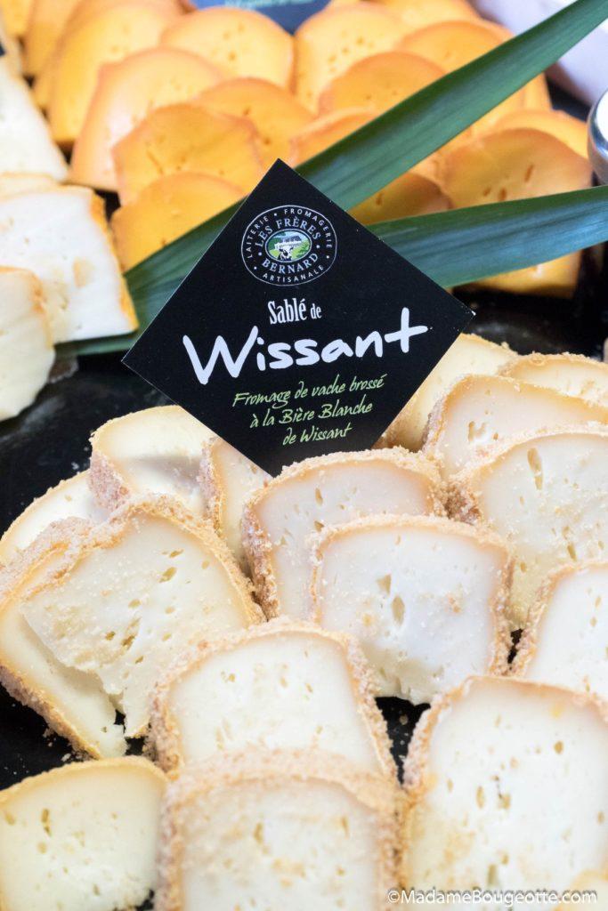 Dégustation de fromage à la brasserie des 2 Caps