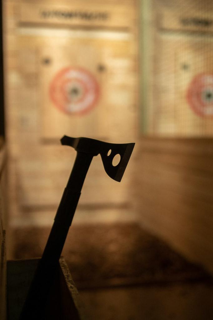 Mouscron - Lancer de haches