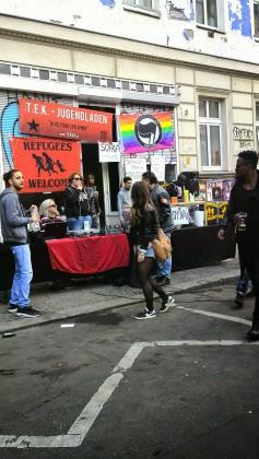 Ambiance musicala dans les rues de Kreuzberg