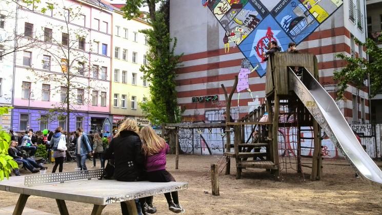Pleine de jeux au MyFest à Berlin
