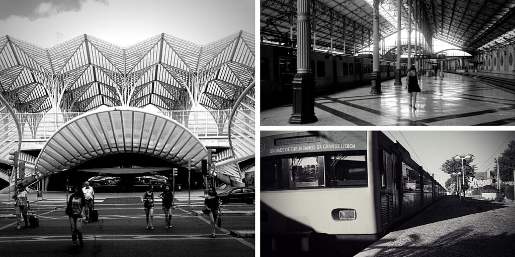 Gares de Lisbonne