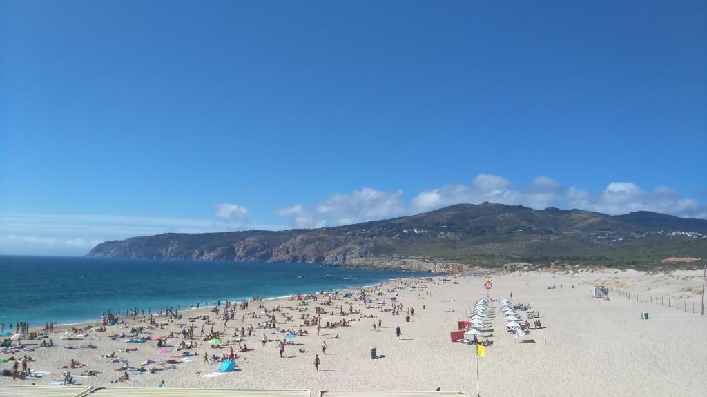 La plage de Guincho au Portugal