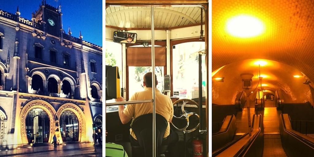 Transports en commun à Lisbonne