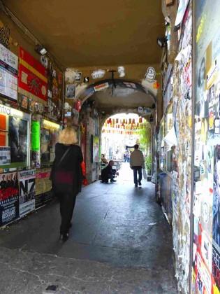 Street art Haus Schwarzen Berg
