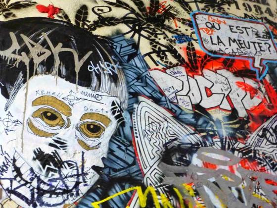 Berlin Street Art - Mont Noir