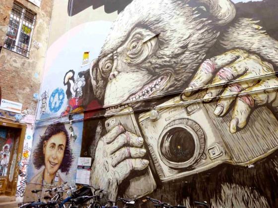 Haus Schwarzen Berg - Fresque murale - Berlin