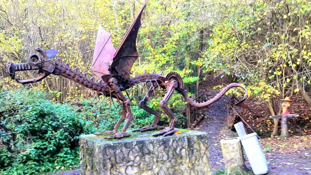 Dragon au pays des collines - Belgique
