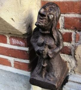 La statue Quintine