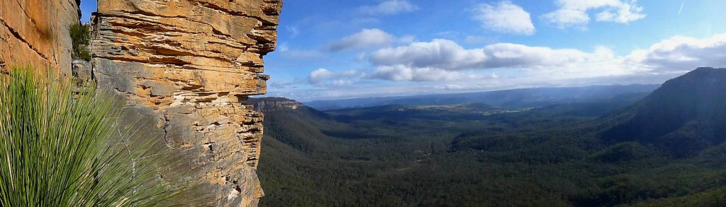 Panorama sur les Blue Mountains