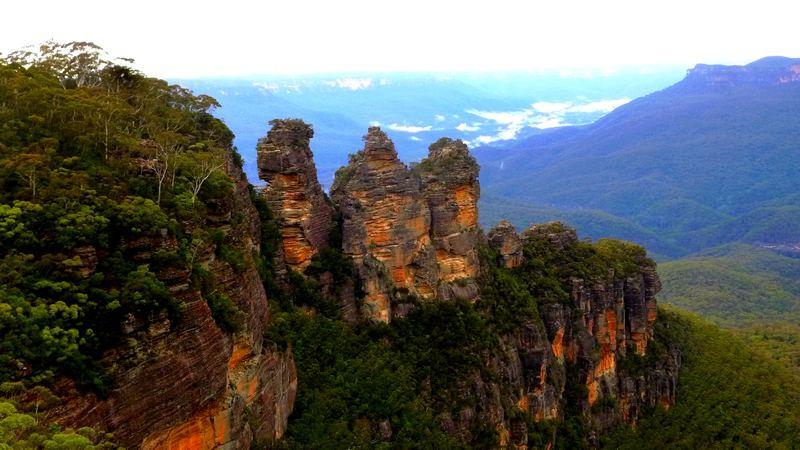 Les three sisters dans les Blue Mountains