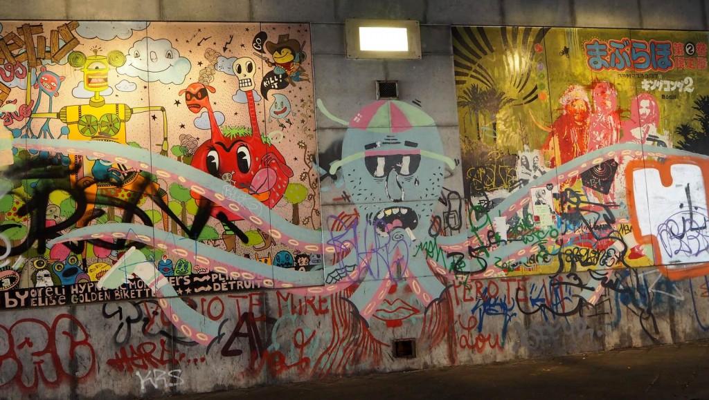Street-art près de Bruxelles-Chapelle