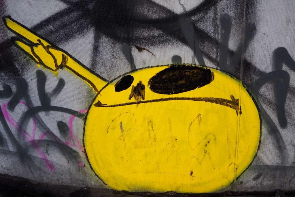 Street-art dans les Marolles