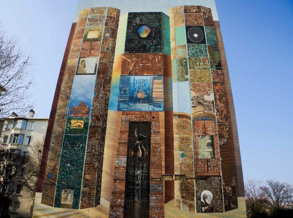 Mur peint - Lyon