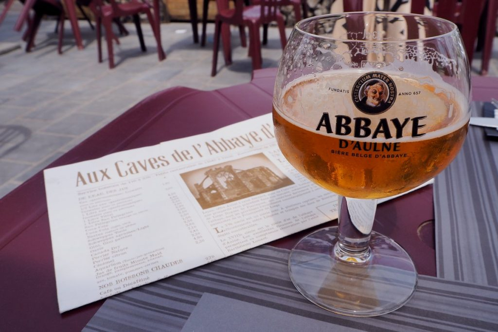 Bière de l'abbaye d'Aulne