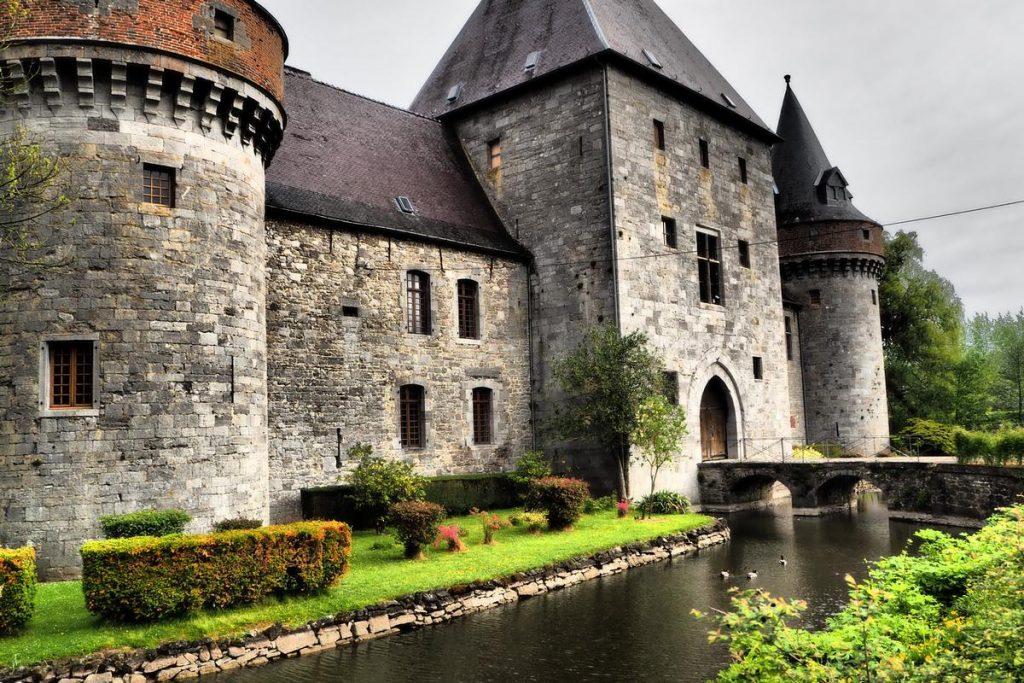 Le château de Solre-sur-Sambre