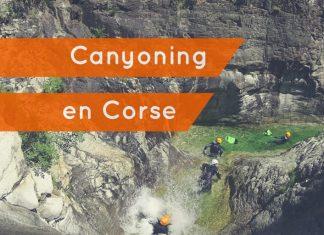 canyoning en Corse