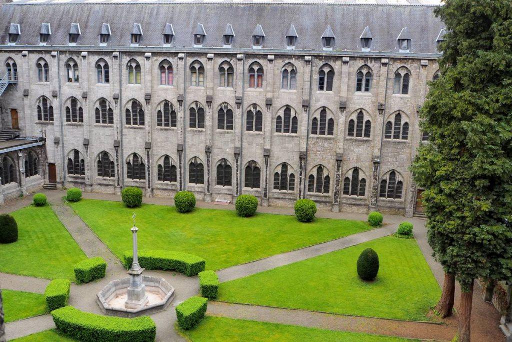 A l'intérieur de l'abbaye de Maredsous