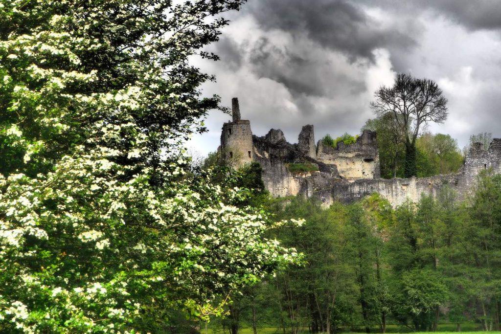 Les ruines du château de Montaigle