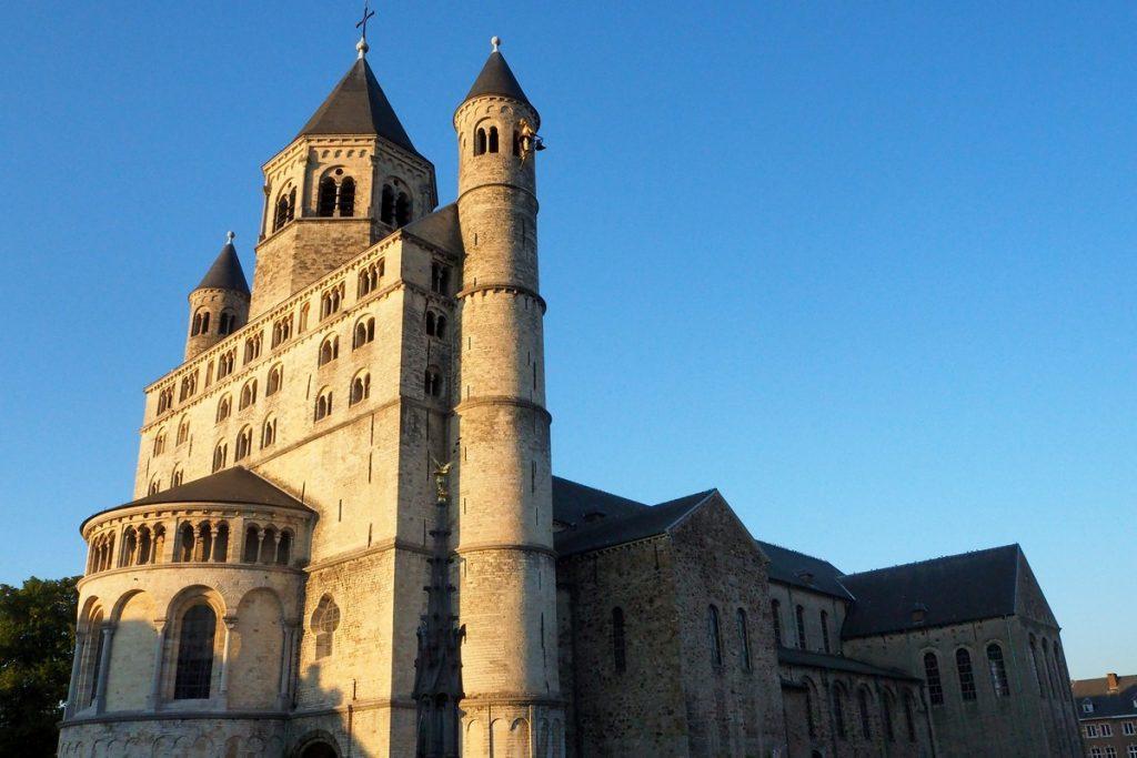 La collégiale Ste-Gertrude à Nivelles