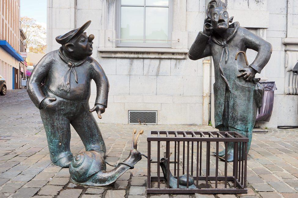 Sculpture de François et Joseph
