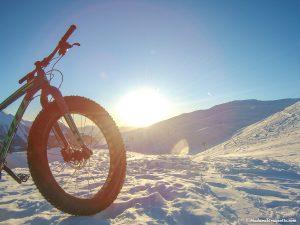 Fat Bike en Hiver à Orcières