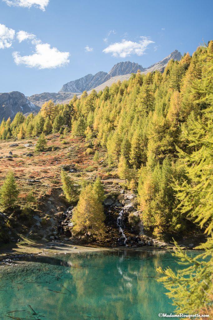 Lac bleu - Suisse